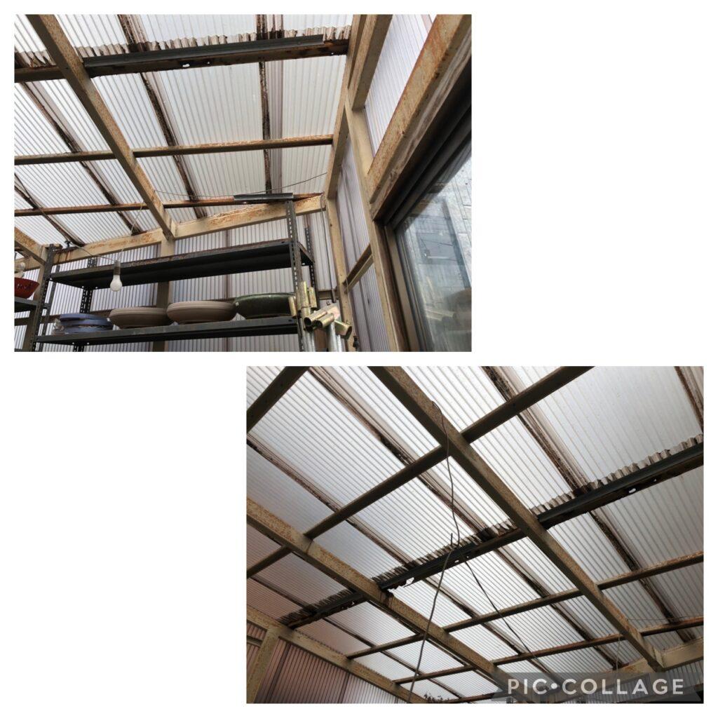 S様邸屋根改修工事①