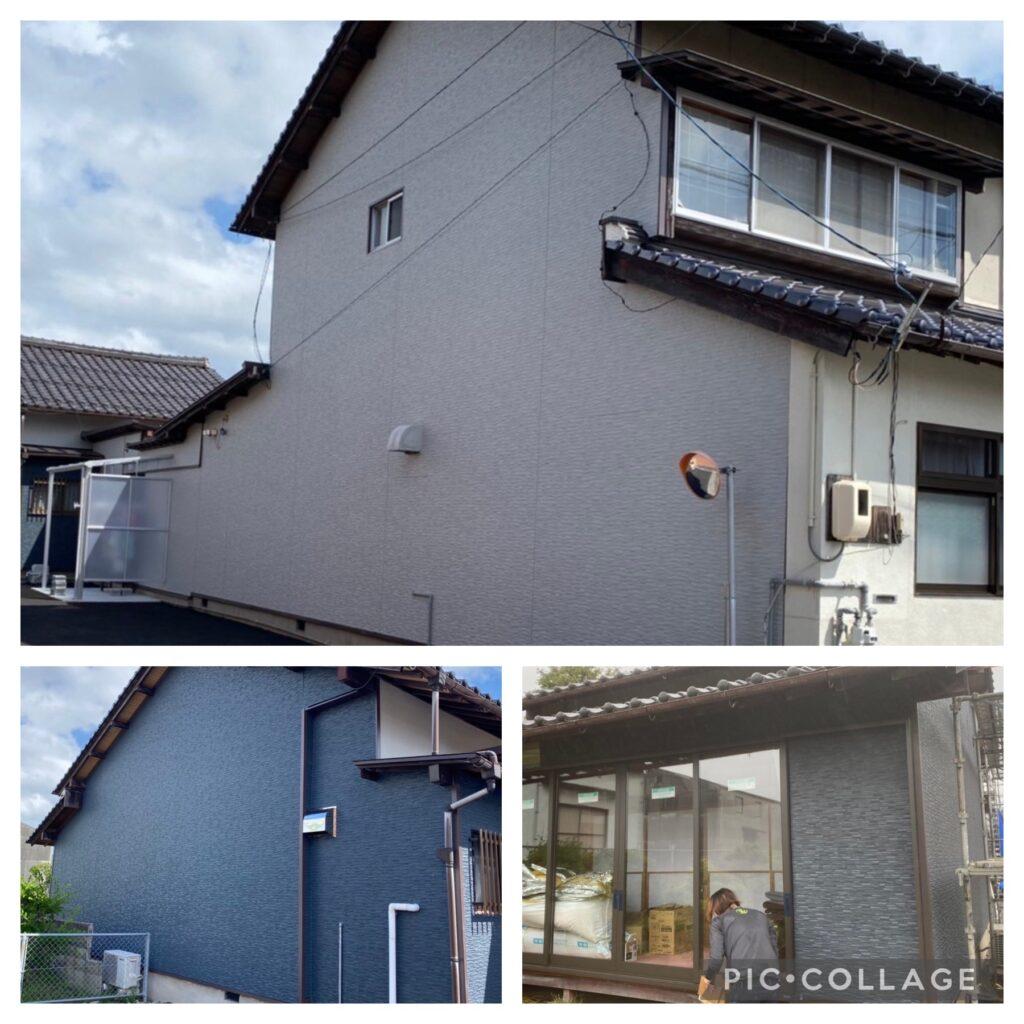 H様邸外壁改修工事